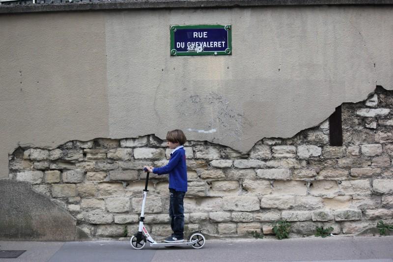 Løbehjul med store hjul fra ajscooters.dk